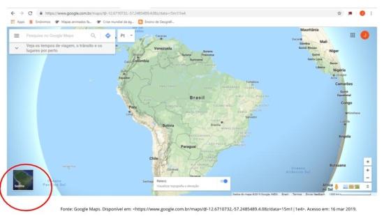 A relação entre o zoom e a escala cartográfica