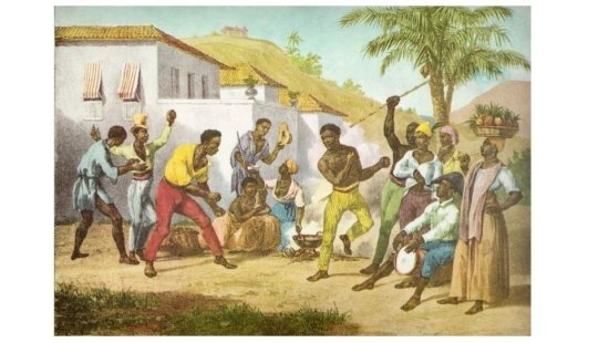 Capoeira expressão cultural afro-brasileira