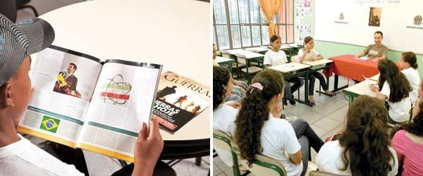 LEITURA E ORALIDADE Fontes variadas, textuais e orais, consolidam a visão da História como um debate de ideias. Fotos: Paulo Vitale e Marcos Rosa