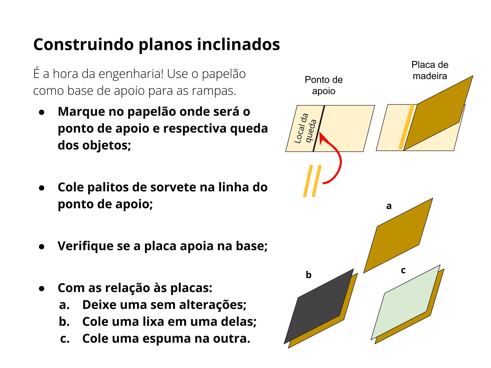 Máquinas simples: plano inclinado