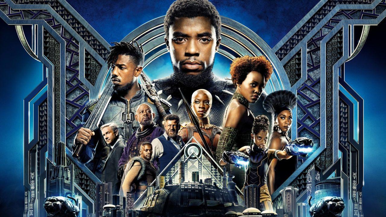 Cartaz do filme Pantera Negra