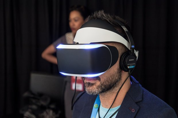 Óculos de realidade virtual para videogames | Crédito: