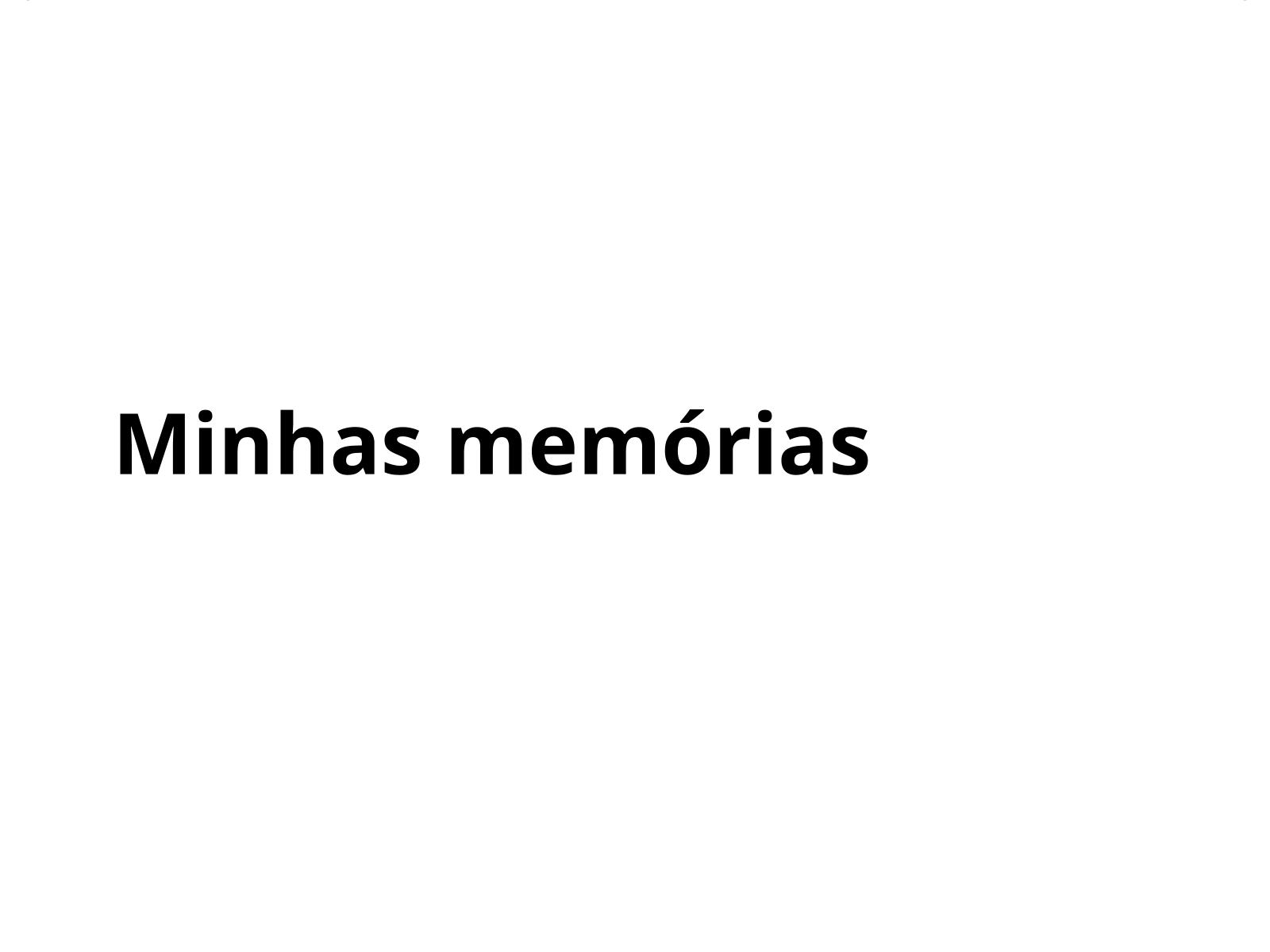 Minhas memórias, memória do meu povo