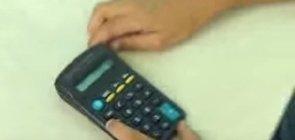 Decomposição de números com a calculadora