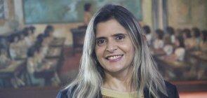 A secretária estadual de Educação do Ceará, Elaine Estrela Nunes