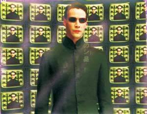 Cena de Matrix: relação entre arte e tecnologia