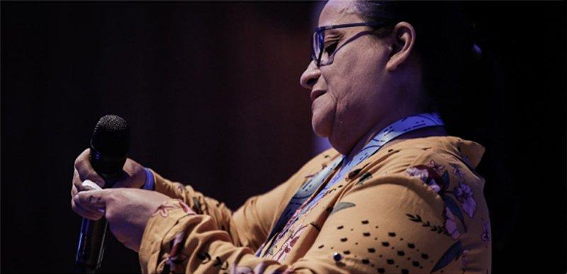 Professora Maria do Socorro Braga Reis/Foto: Alice Vergueiro - Jeduca