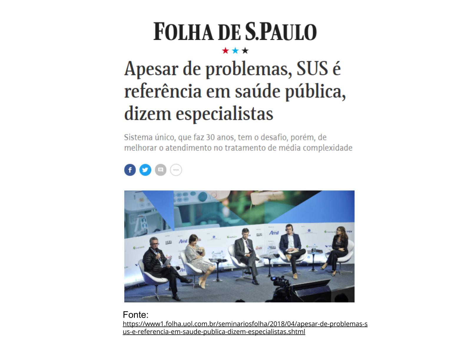 Políticas públicas na saúde brasileira