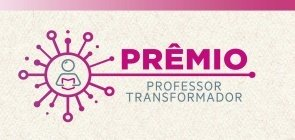 Banner do prêmio professor transformador