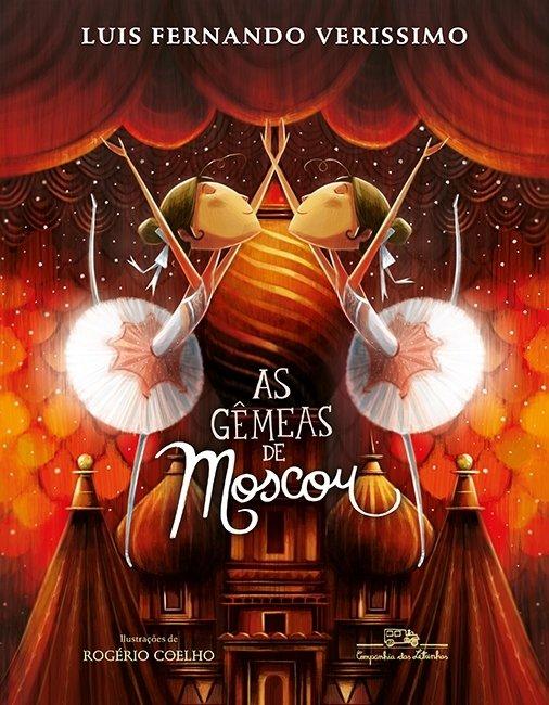 Capa do livro As Gêmeas de Moscou