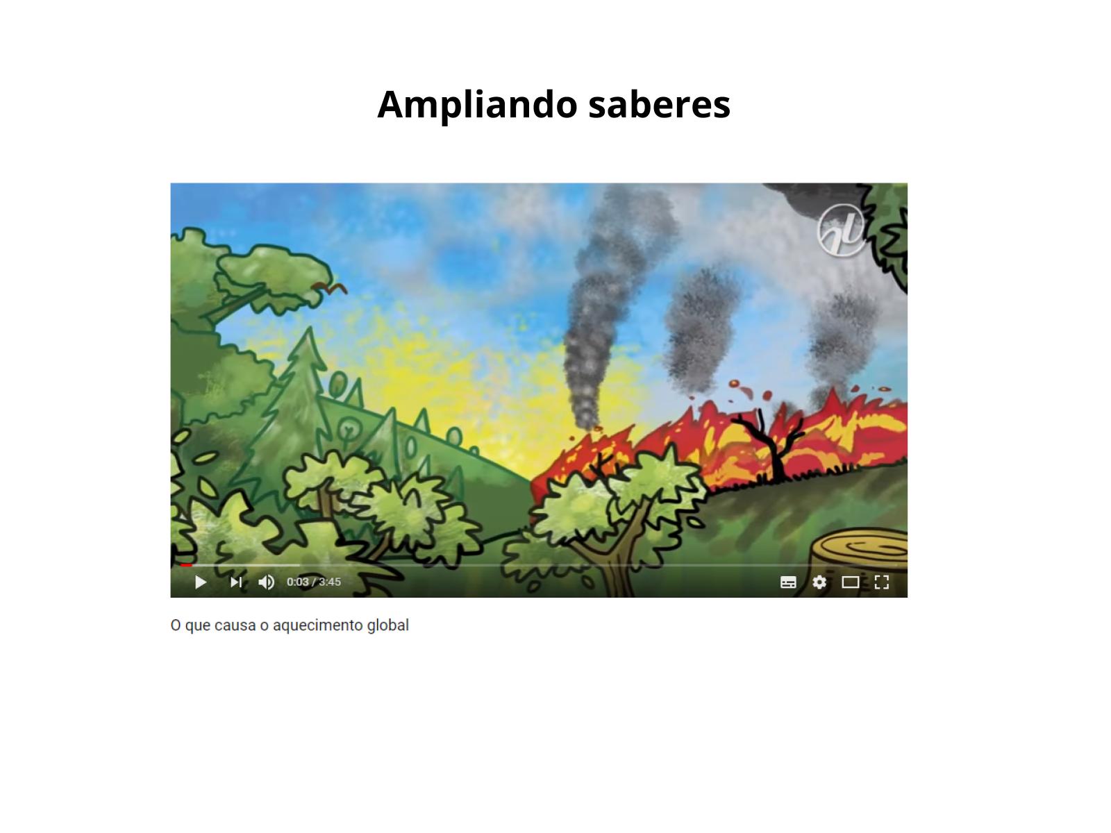 Causas e consequências do aquecimento global