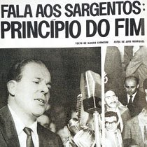 Trecho de artigo da revista O Cruzeiro permite à garotada analisar uma fonte diversificada para estudar a ditadura. Foto: Arquivo O Cruzeiro/EM/D.A Press