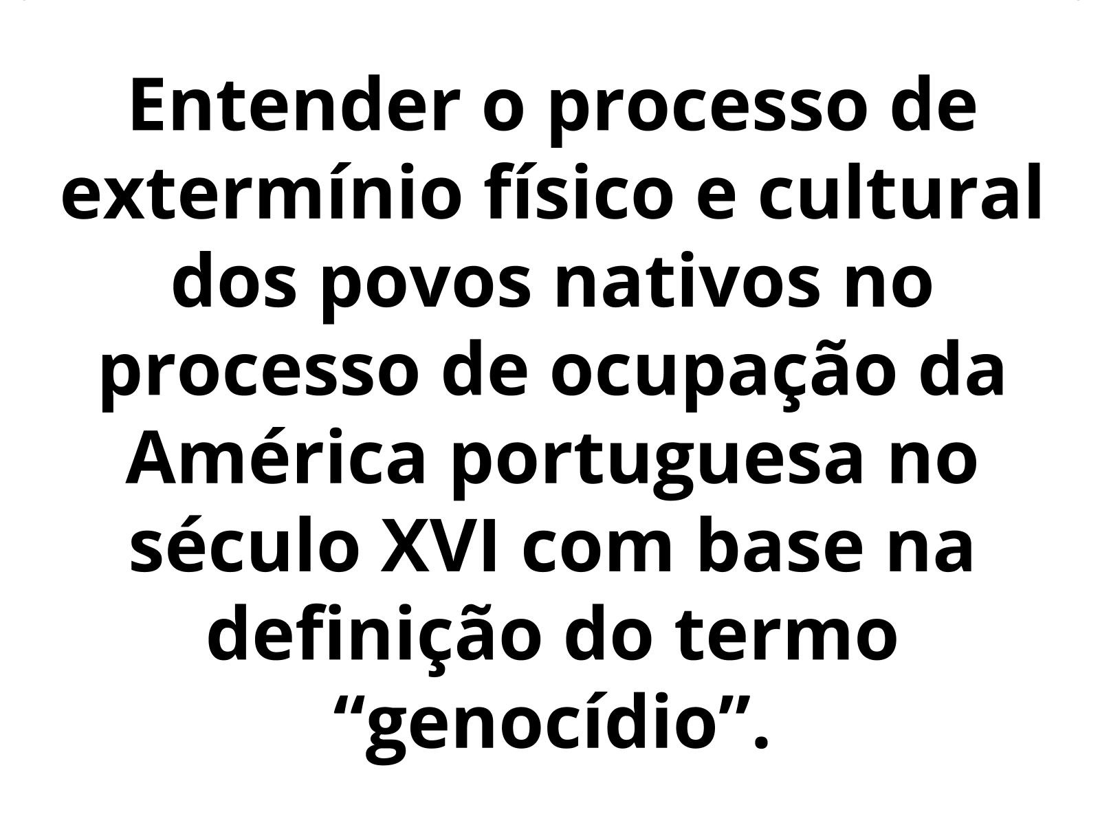 O genocídio e as resistências dos povos ameríndios