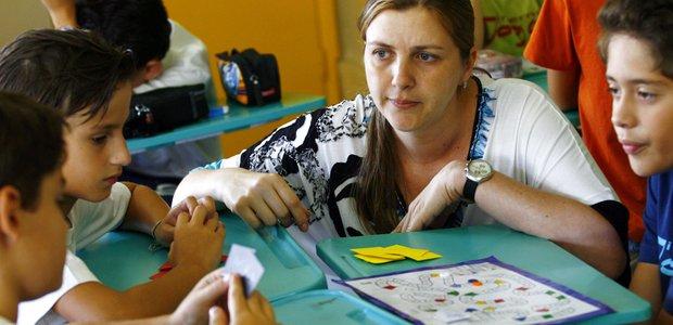 Jogo de Matemática, multiplicação e tabuada. Foto: Leo Drumond