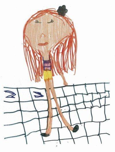 Crianças de 5 anos avaliam desenhos. Reprodução