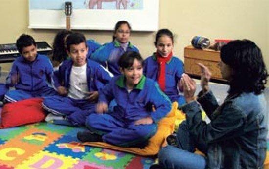 Que instrumentos podem ser utilizados na iniciação musical de crianças a partir dos 6 anos?