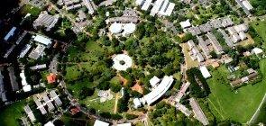 Campus da Unicamp visto do alto