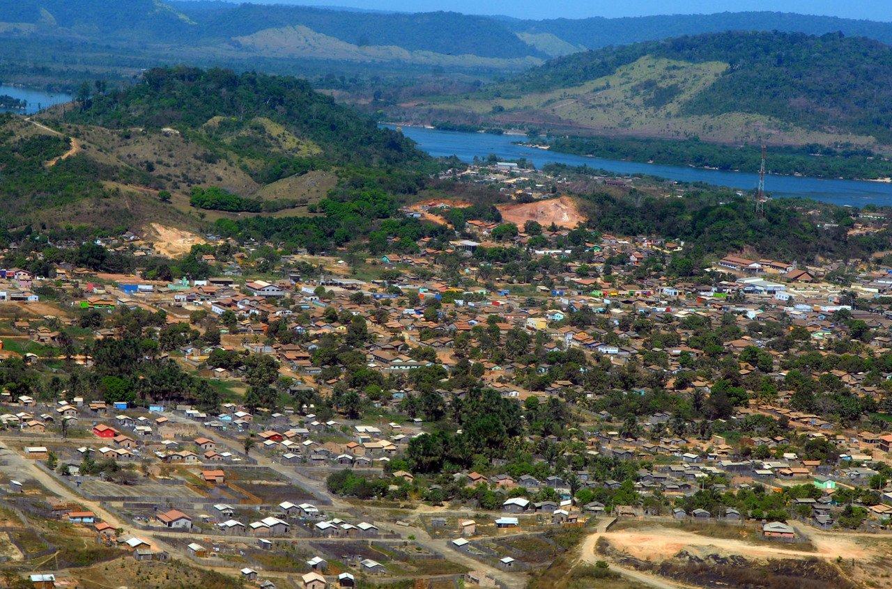 Vista aérea de São Félix do Xingu