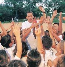 Alberto em ação, em Campinas: o imprevisto enriquece a atividade