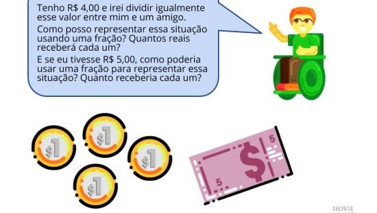 Representação fracionária e decimal