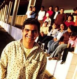 A união incentivada pelo professor César foi essencial:a turma virou uma família - Foto Gustavo Lourenção