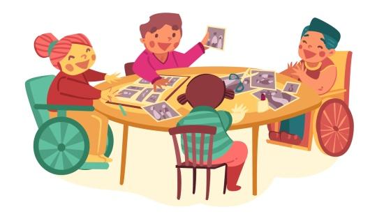 Histórias das famílias das crianças