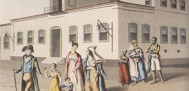 Registro de família de escravos. Milhares vieram ao Brasil durante a escravidão | Crédito: Wikicommons