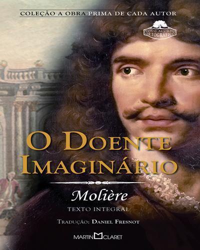 capa do livro O doente imaginário