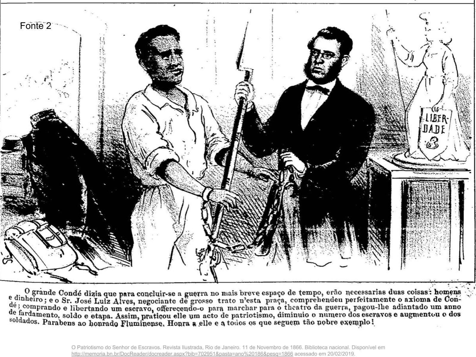 Os negros na Guerra do Paraguai (1864-1870)
