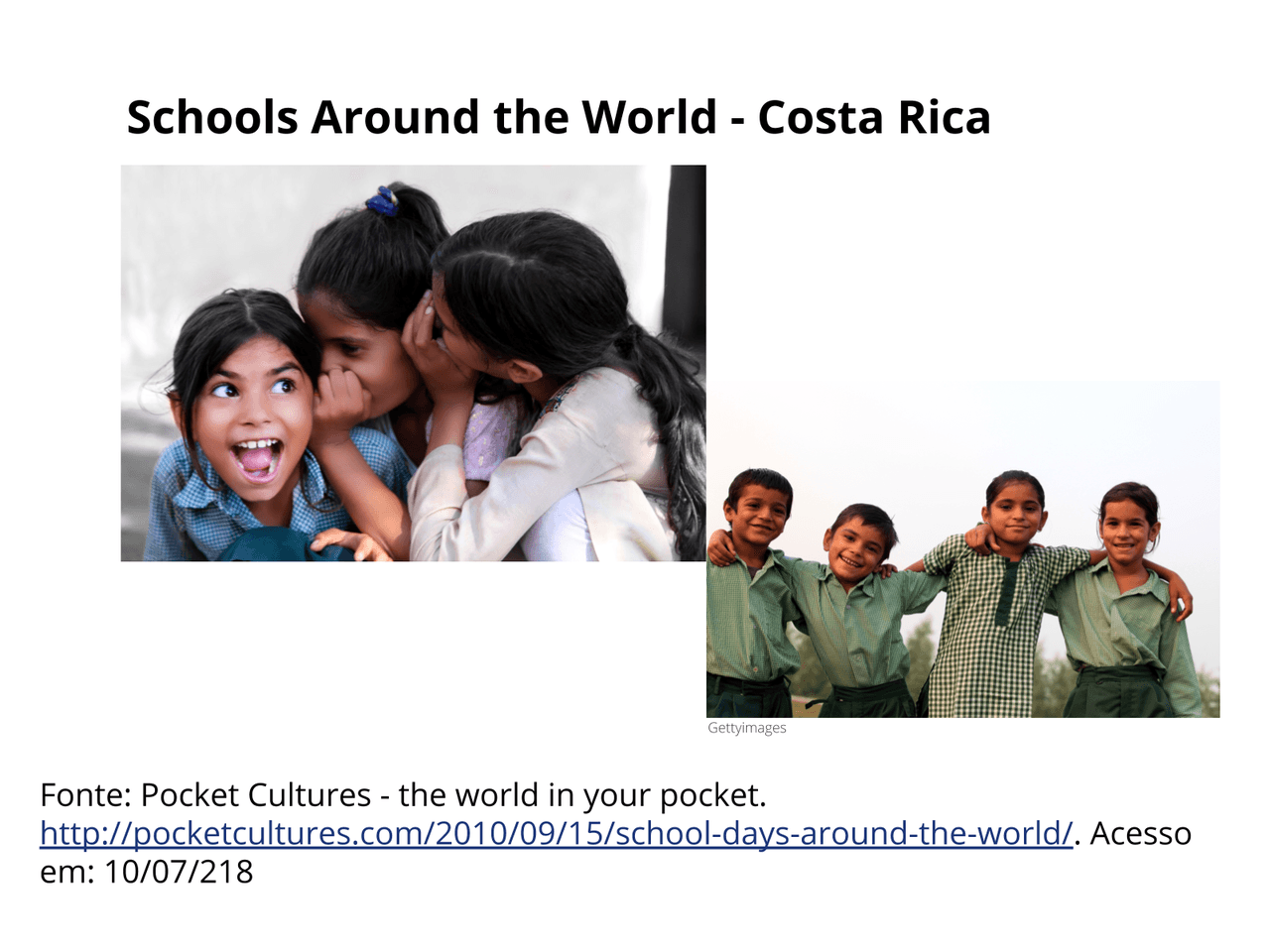 School in other countries (Costa Rica)