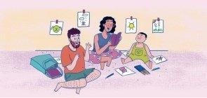 Para estimular a leitura na primeira infância