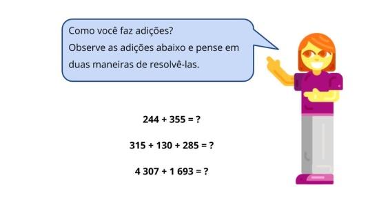 Estratégias de cálculo - Adição