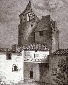 O castelo onde Montaigne se isolou para escrever: introspecção pedagógica. Foto: AFP/Roger Viollet