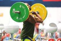 Welisson Rosa da Silva treinando nos Jogos de Beijing 2008. Foto: Wander Roberto / Divulgação COB