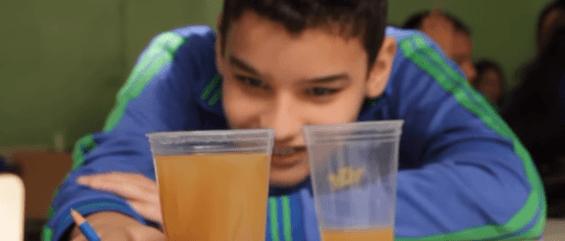 Investigando o processo de tratamento da água