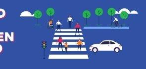 Leve para a aula discussões sobre meios de transporte, mobilidade urbana e sustentabilidade