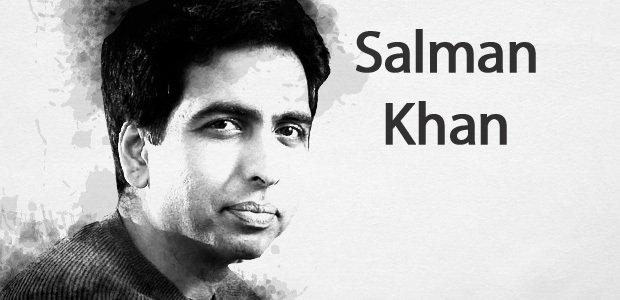 Salman Khan, matemático americano, criador da Khan Academy