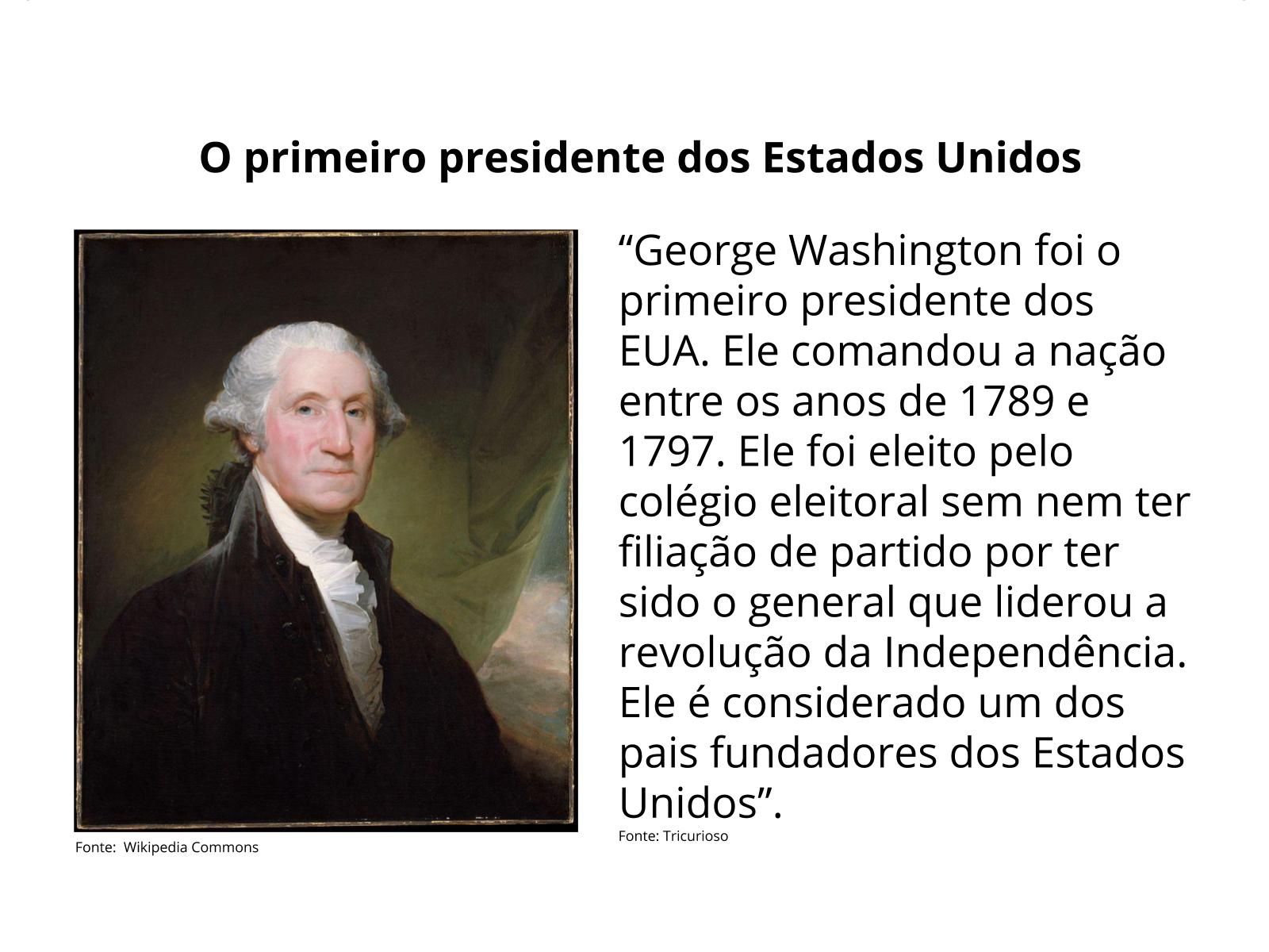 A Independência das 13 colônias e a adoção do sistema republicano