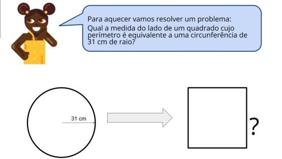 Quanto cabe na circunferência?