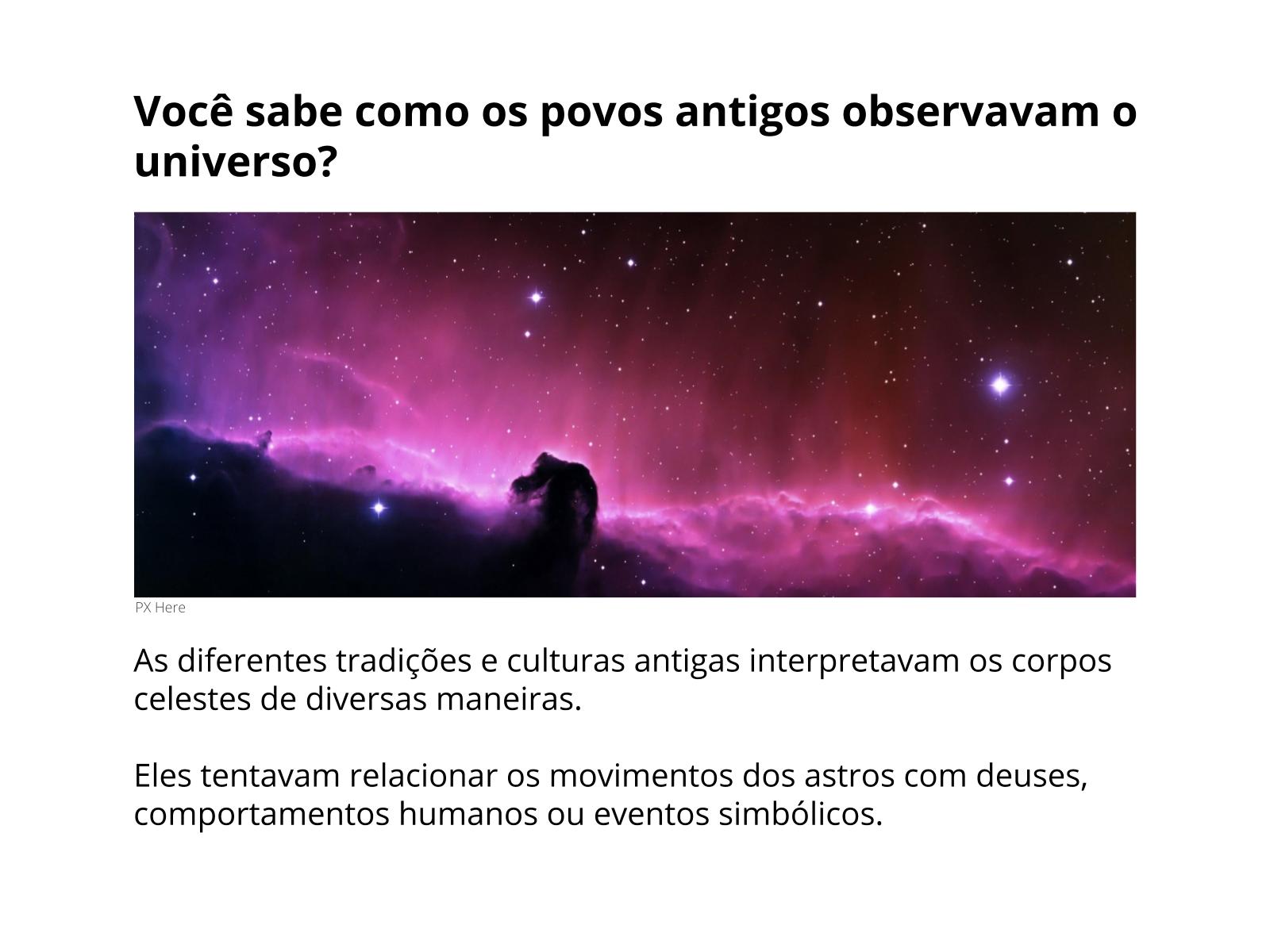 Mitos e Crenças do Céu Estrelado