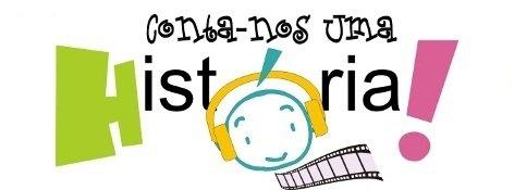 """Logo do projeto """"Conta-nos uma história!"""", promovido pelo Ministério da Educação e Ciência de Portugal"""