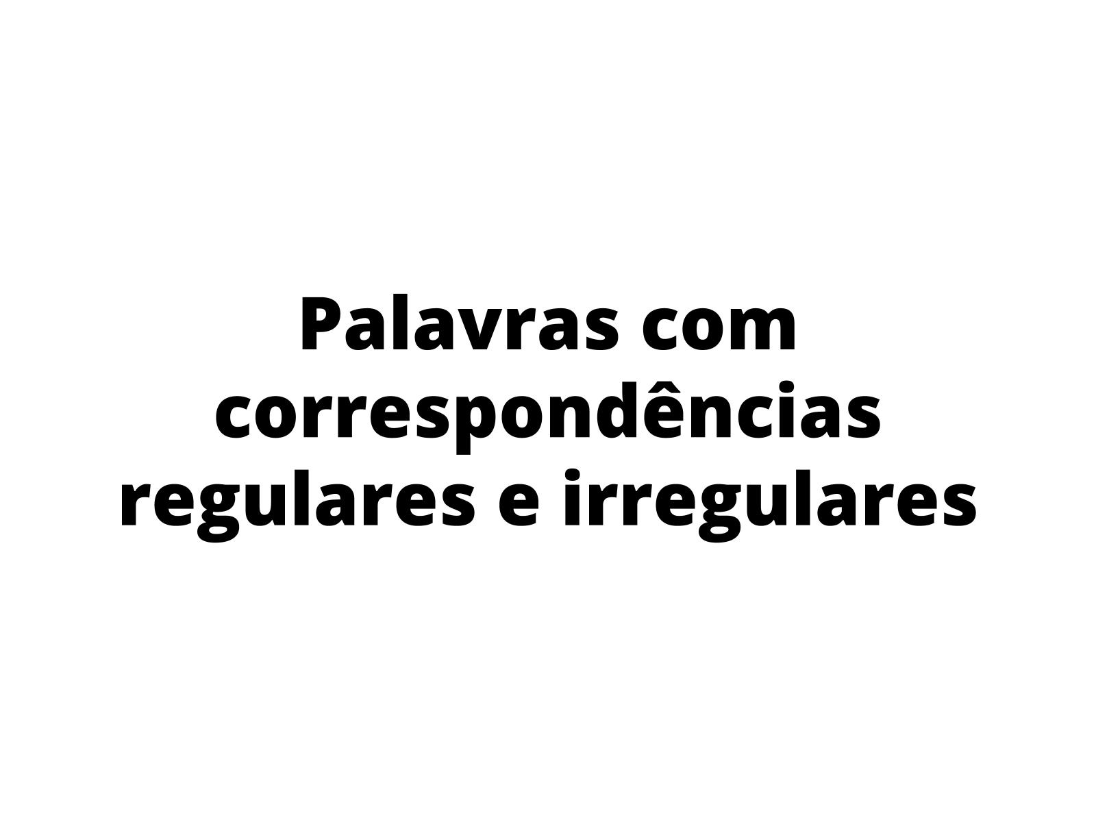 Vocabulário