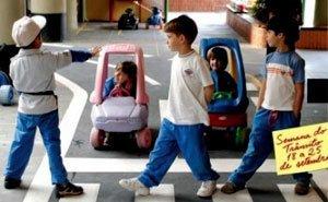 A minipista do Augusto Laranja, de São Paulo: situações reais Foto:Daniel Aratangy