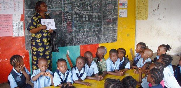 Uma instituição particular liberiana. Foto: Maria Carolina Balro
