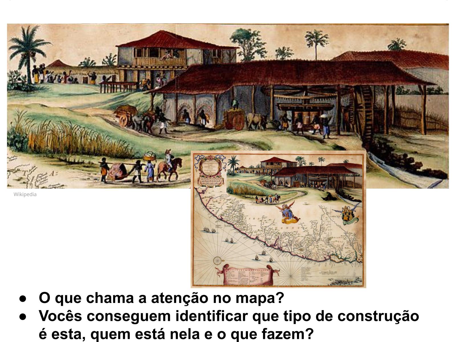 Os engenhos de açúcar na formação  do território da América portuguesa