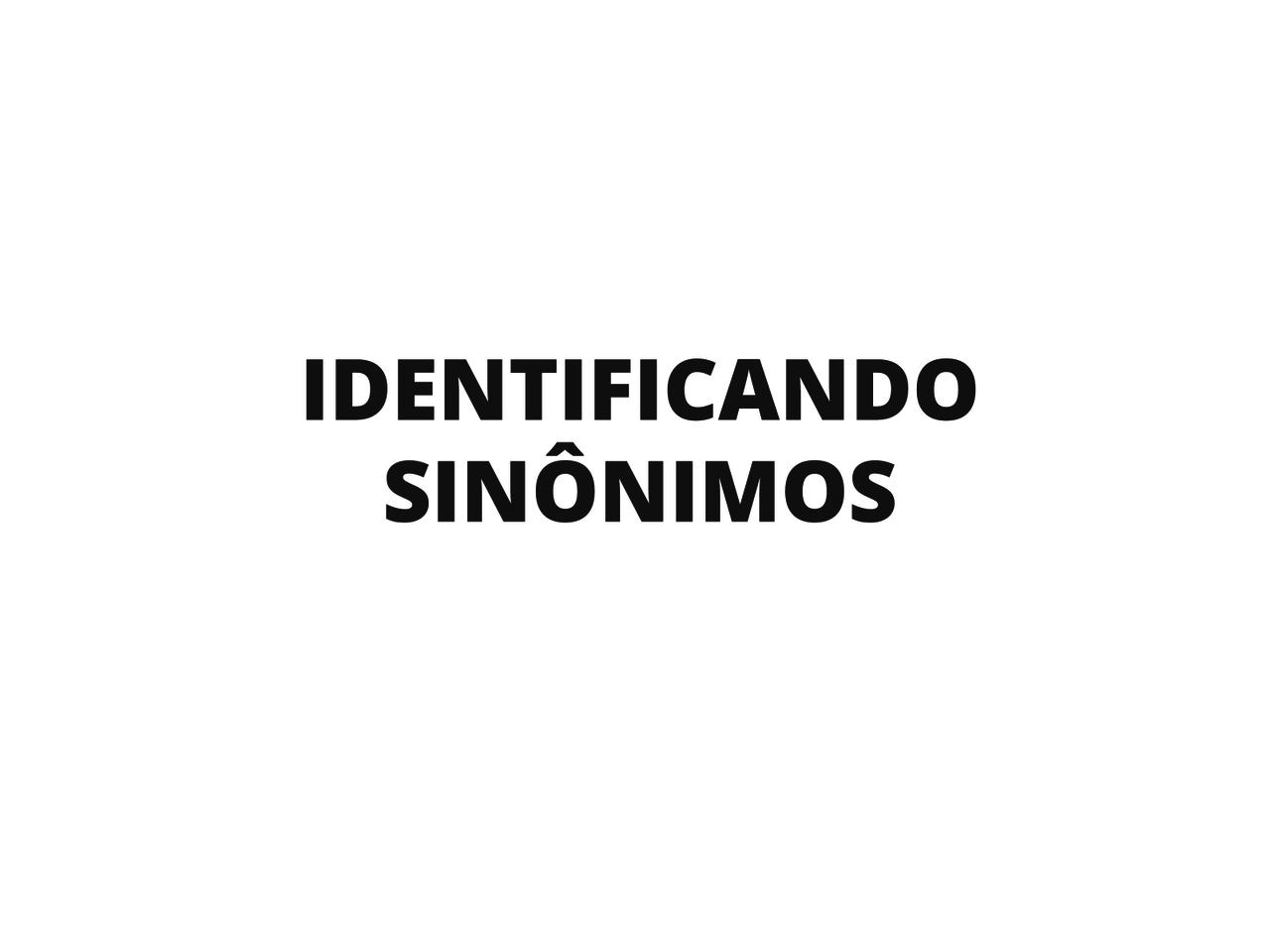Plano De Aula 2º Ano Língua Portuguesa Identificando