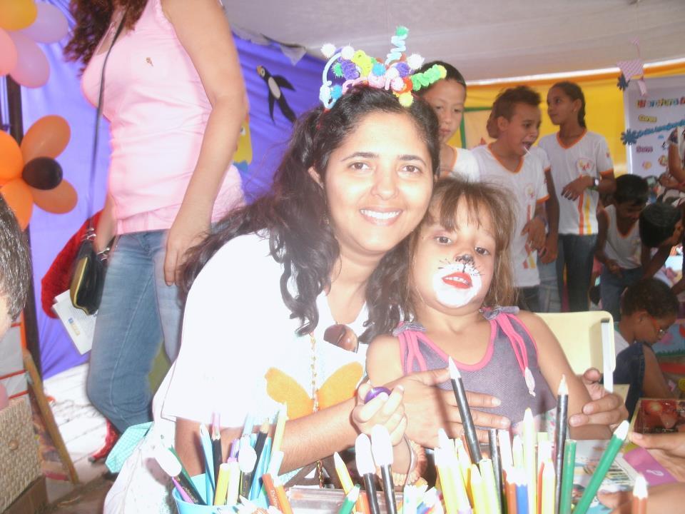 A professora Adriana Ferreira Silva Nunes, da cidade de Irecê