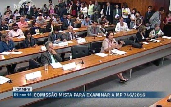 TV Senado - Comissão Mista para discutir MP do Ensino Médio