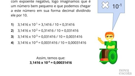 Explorando os números pequenos com Notação Científica