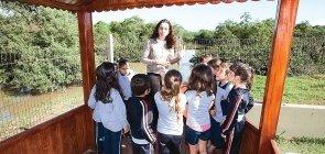 Meio Ambiente: Professora leva turma de Educação Infantil para o mangue